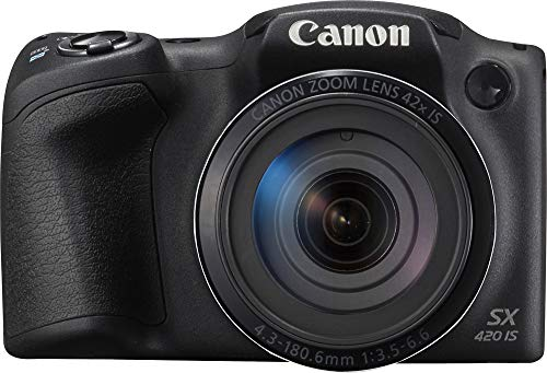 Canon PowerShot SX420 Digital Camera w/42x Optical Zoom - Wi-Fi  & NFC Enabled
