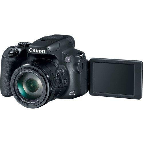 Canon PowerShot SX70 HS Digital Camera (MSIA) +32GB+Bag