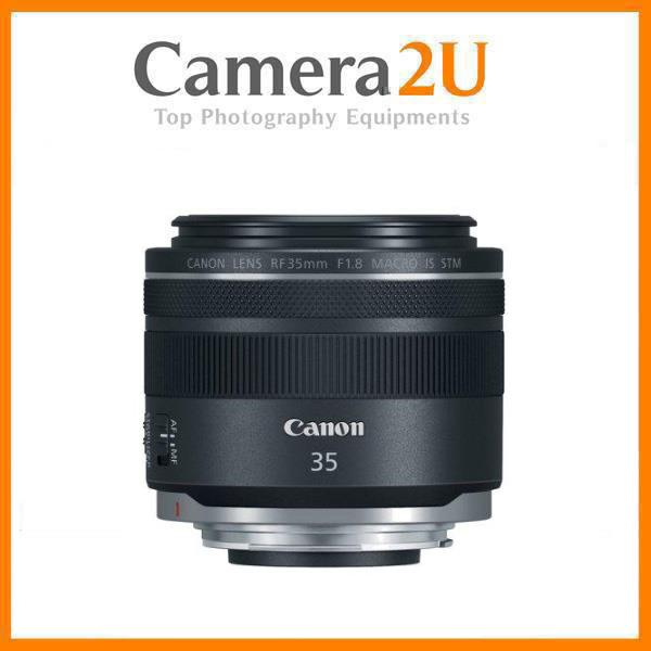 New Canon RF 35mm f/1.8 IS Macro STM Lens (MSIA)