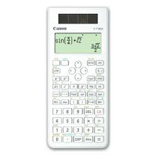 CANON SCIENTIFIC 18 DIGITS CALCULATOR (F-718SA) WHT