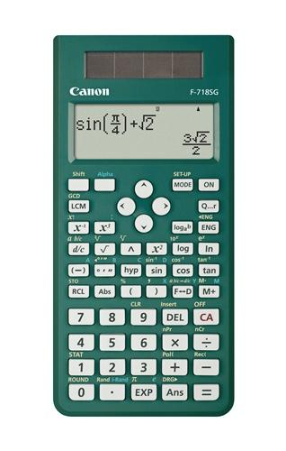 Canon Scientific Calculator, F-718s, (Green) [Free 3 years warranty]