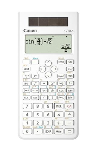 Canon Scientific Calculator, F-718s, (White) [Free 3 years warranty]