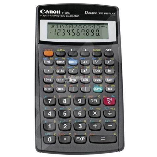 CANON SCIENTIFIC STATISTICAL CALCULATOR (F-720i)