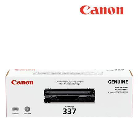 Canon Toner Cart 337 Laser Cartridge Genuine