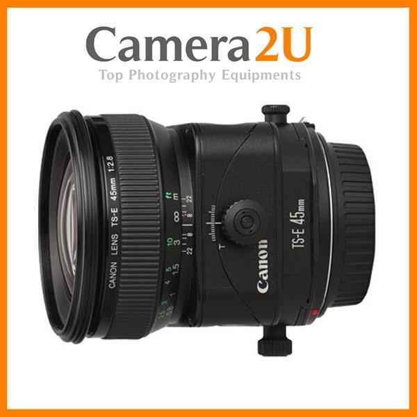 Canon TS-E 45mm f/2.8 Tilt and Shift Manual Focus Lens (Canon Malaysia