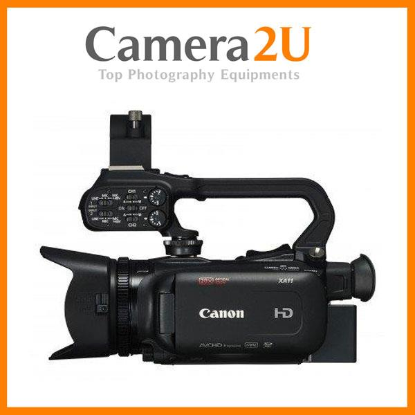 Canon XA11 Compact Full HD Camcorder Free Extra Ori Battery(Import)