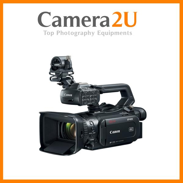 Canon XF405 Pro Video Camcorder with HDMI 2.0 & 3G-SDI Output (Free Ca