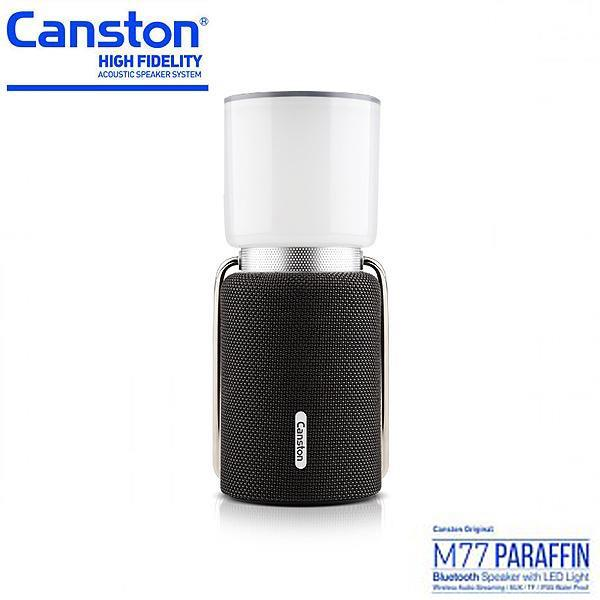 Canston M77 Paraffin Bluetooth Speaker with LED Light