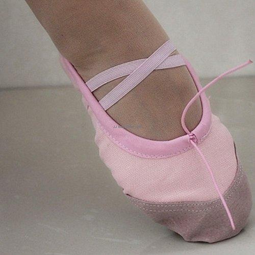 Canvas Ballet Dance Yoga Gymnastics Shoes Size : 27