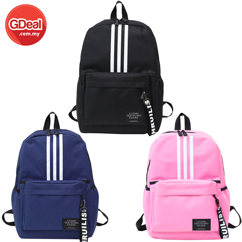 4175578fc0c1 Canvas Men Women Backpacks Zipper Ba (end 8 6 2021 12 00 AM)