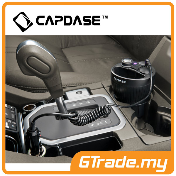 CAPDASE Car Charger Cup Holder 3.1A Apple iPhone 6S 6 Plus SE 5S 5C 5