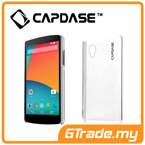 CAPDASE Karap. Jacket Case Finne DS | LG Nexus 5 - Clear