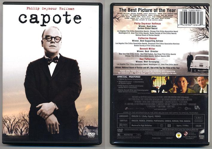 'Capote' DVD, US Import.