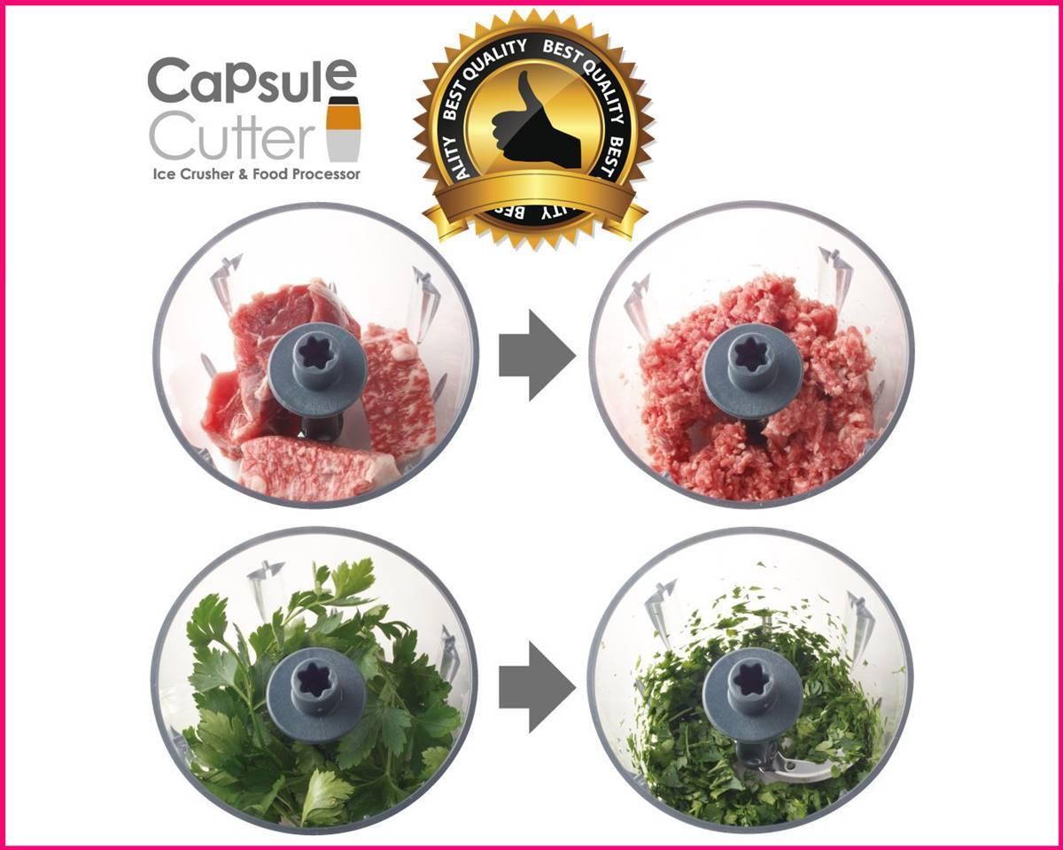Capsule Cutter Quatre Food Processor Blenders,Mixers &Grinder Janoseno