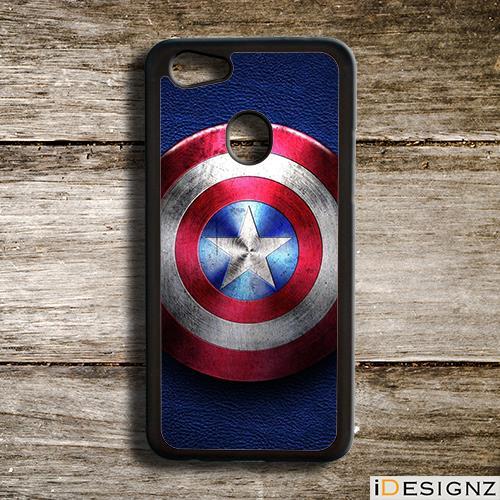 Captain America Shield Case Cover for Oppo F9 F7 F5 A37 Vivo V9 V7 V7+