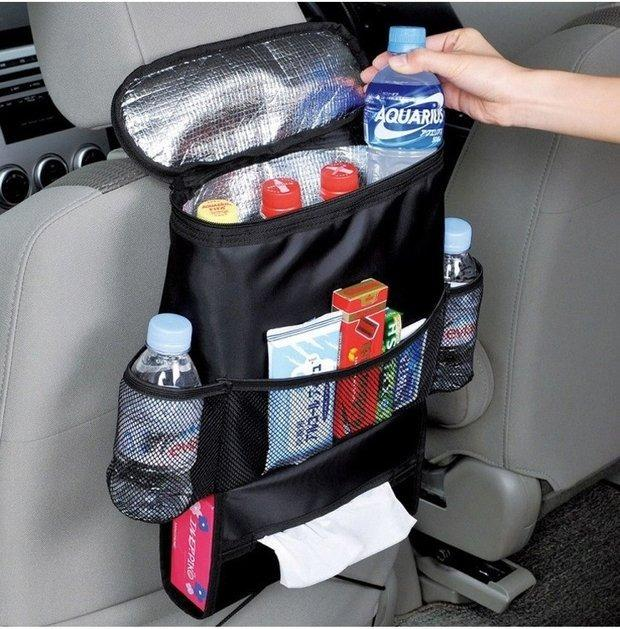 Car Accessories Car Back Seat Storage Bag Multi Pocket Organizer