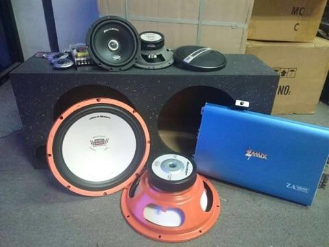 Car audio package D ( RM888 )