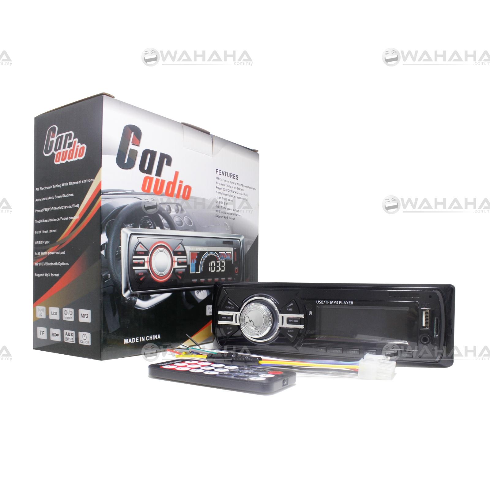 Car Audio Stereo Head Unit MP3 Player Support USB SD AUX FM Radio