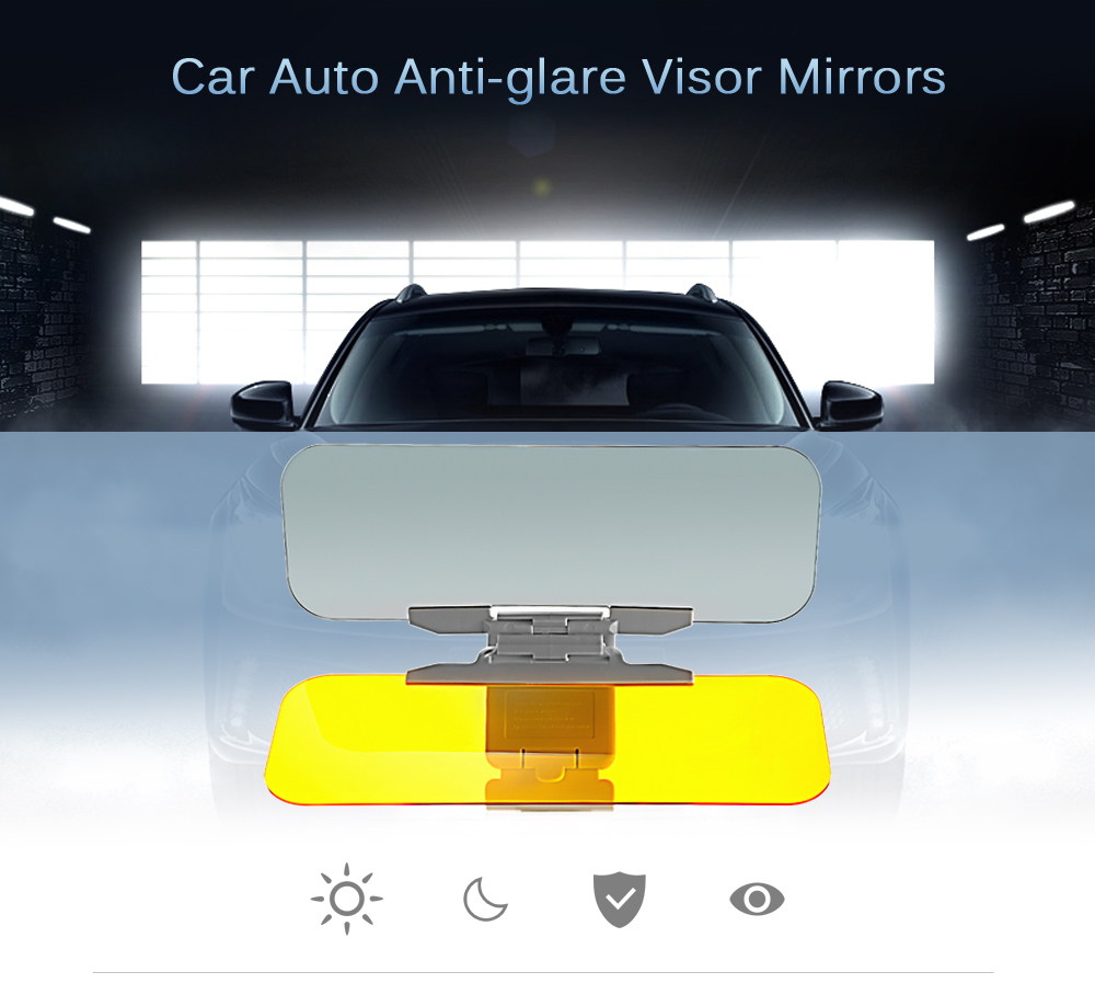 Car Auto Anti-glare Visor Mirrors (end 1 17 2021 12 00 AM) 152fdbb0896