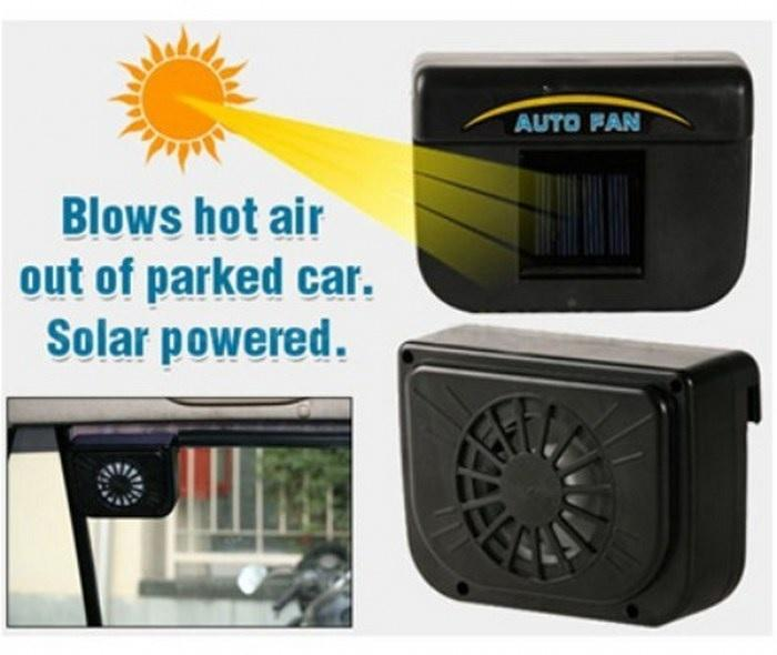 Car Auto Fan Cool Ventilation ,Solar Car Cooler Fan