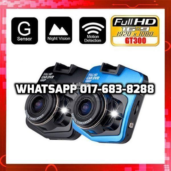 Car Blackbox DVR Camera Full HD Recorder Kereta Video Cam Audio Sensor