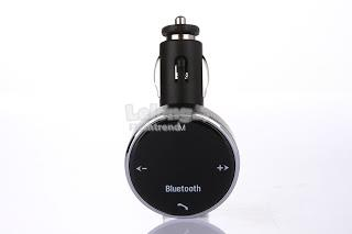 Car bluetooth FM Modulator- Wireless FM Transmitter