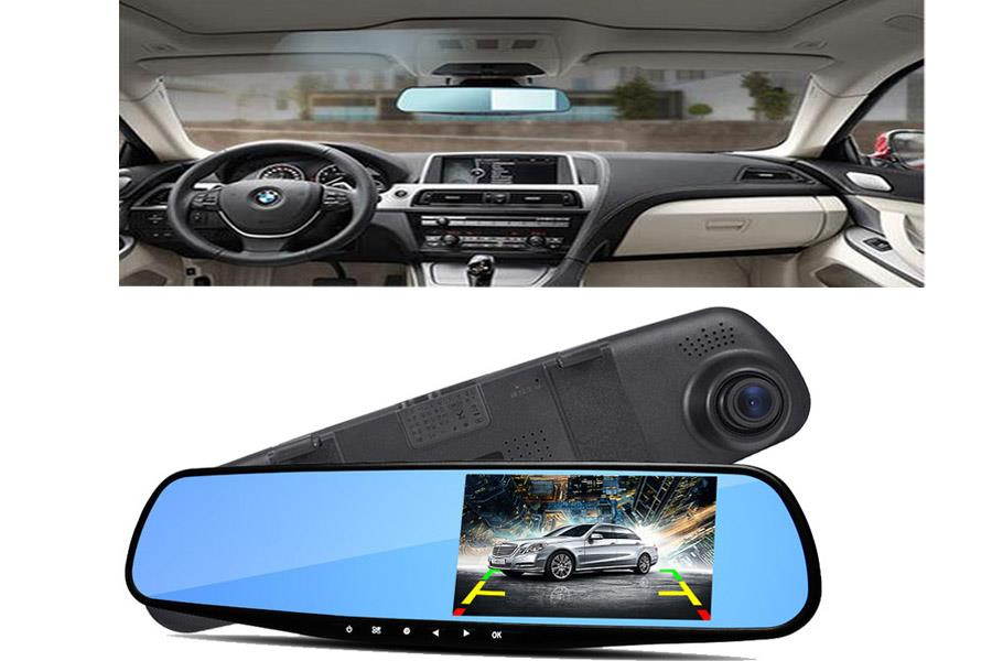 Car Camcoder Rearmirror 2.8MP Vehicle Blackbox DVR Night Vision