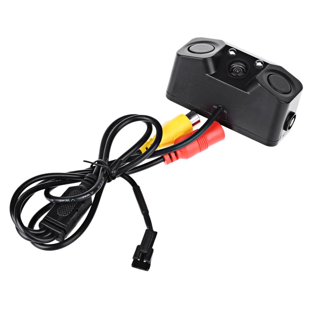 Car Cameras - Hd Camera With Radar Sensor - 170 Degree Viewing Angle H