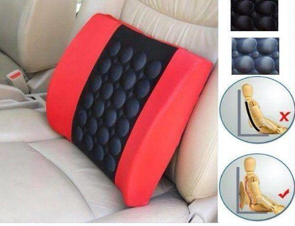 Car Cushion Seat Massage Memory Foam Electric Vibration Back Support