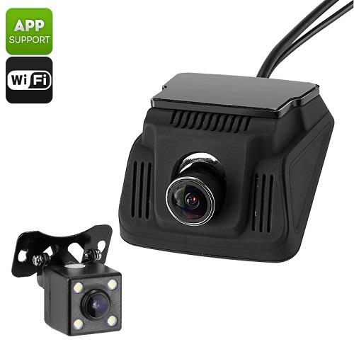 Car Dash Cam And Reverse Camera (WCR-27B).