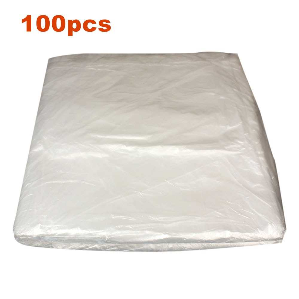 Car Disposable Plastic Seat Covers Transparent Seat Protective Cover