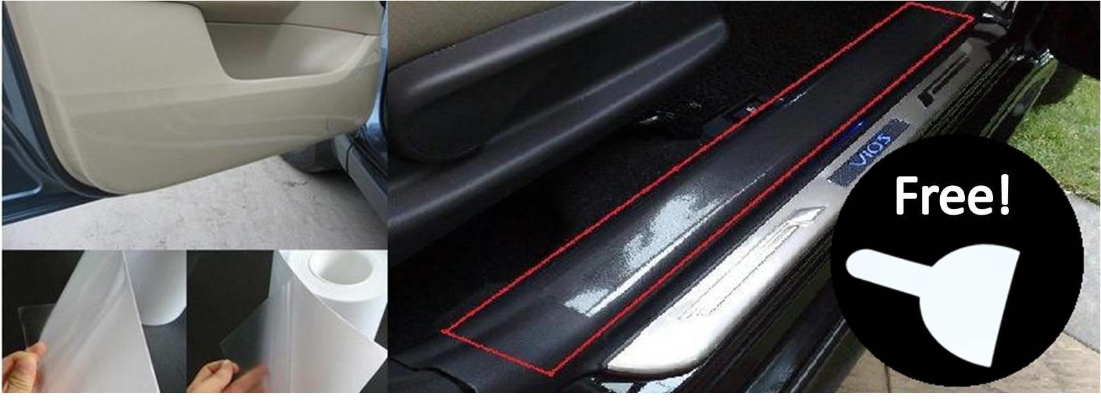Car door step interior protection fil end 1 2 2020 1 23 pm - Automotive interior protective film ...
