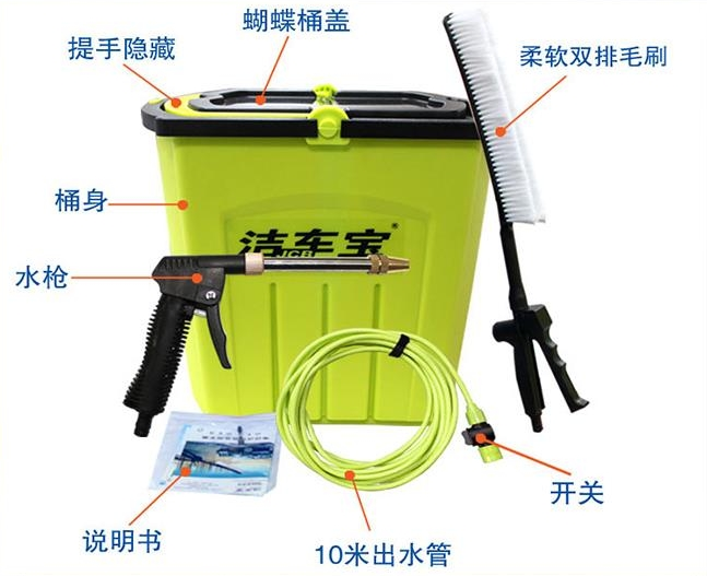 Car Electric Wash Portable High Pressure Washing Machine Pump