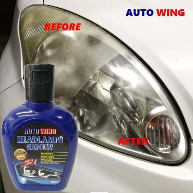 Car Headlamp Restore Gel Cream Polish Repair Remove Scratches Body Coating Pro