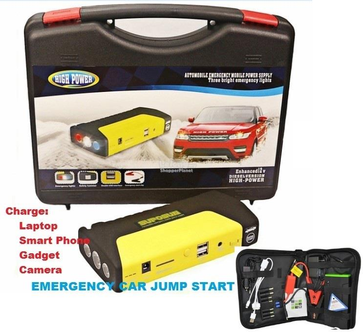 Car Jumper Battery Jump Start Jumper SmartPhone Laptop USB Charger
