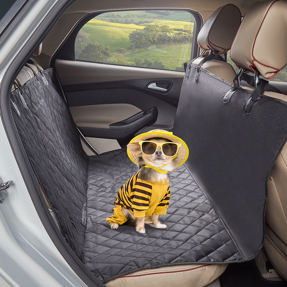 Car Mat - 600d Oxford Pet Dogs And Cats Back Seat Bench Waterproof Non..