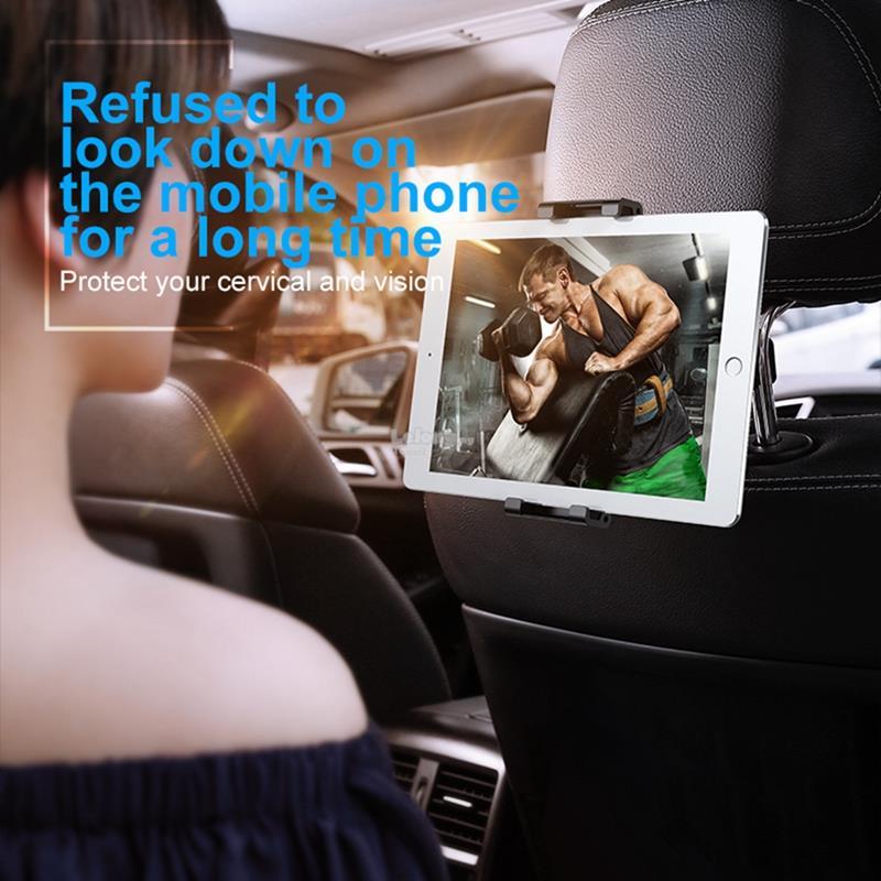 Car Mount Backseat Holder Back Seat Stand Mobile Phone IPad
