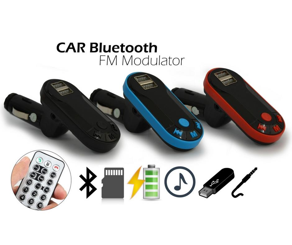 Car MP3/Bluetooth/USB/SD Card/AUX/FM/Charger With Remote/Cable