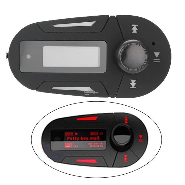 Car MP3 Player Wireless Music FM Transmitter Modulator USB & Remote Co