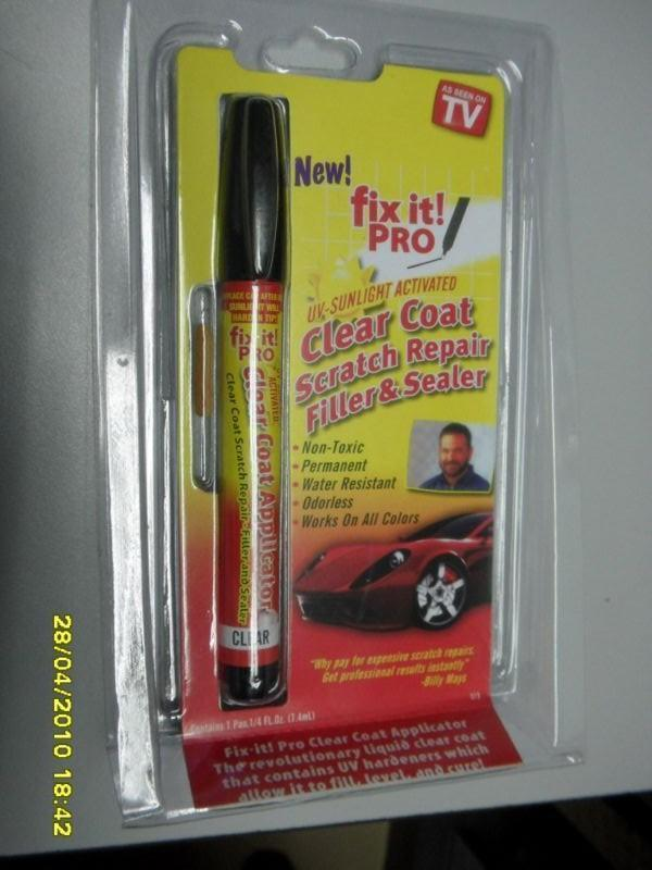 `Car Paint Scratch Removal Tool, The Magic Pen