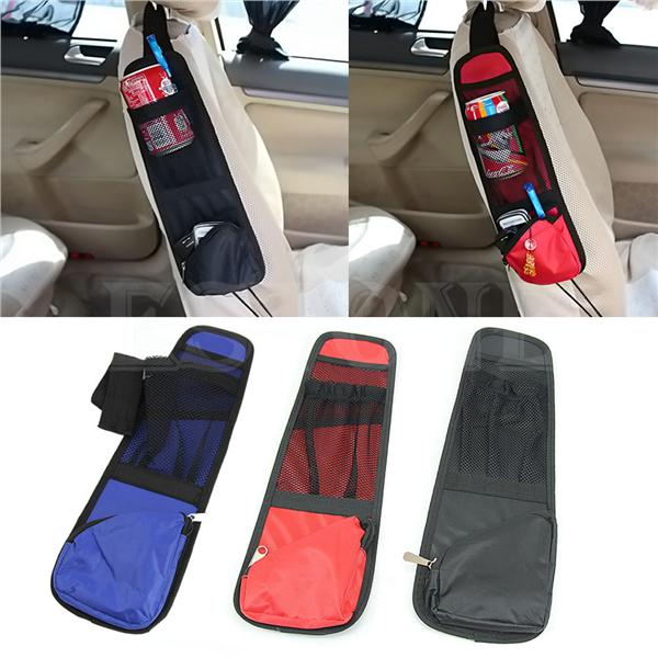 Car Seat Chair Side Bag Hanging Organizer Storage Multi-Pocket