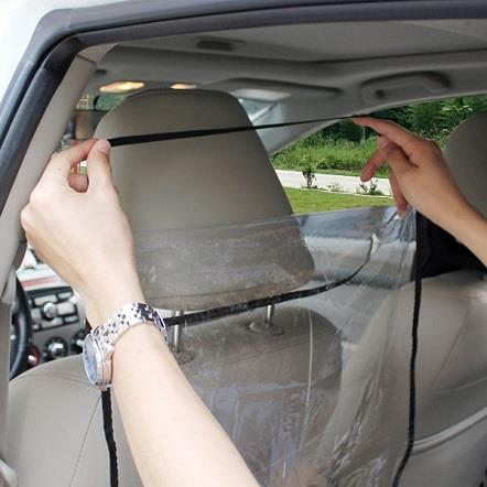 Car Seat Cover Anti Play Mat Clear