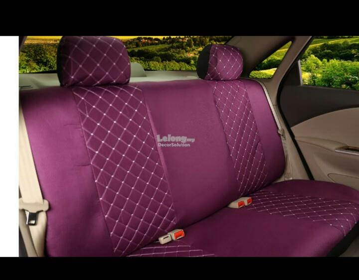 Car Seat Cover Elegant (purple color)