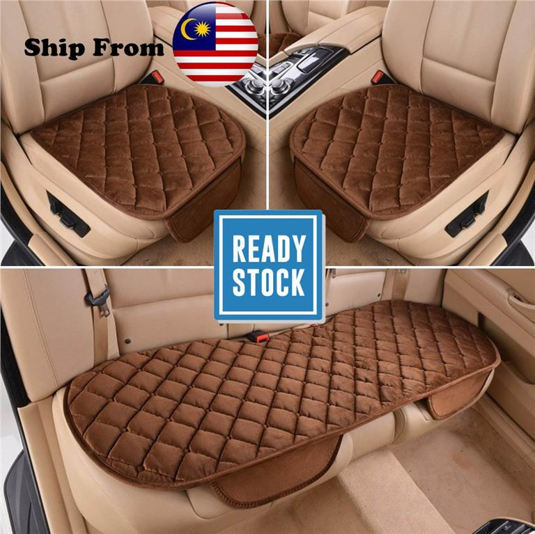 Car Seat Cushion Front Back Seat Covers Auto Vehicles Chair Pad Mat