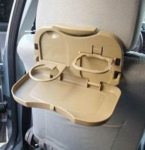 Car Back Seat Folding Meal Holder Table