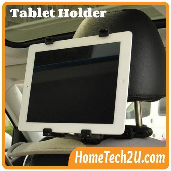 Car Back Seat Headrest Mount Holder Stand Bracket Kit For Tablet Ipad