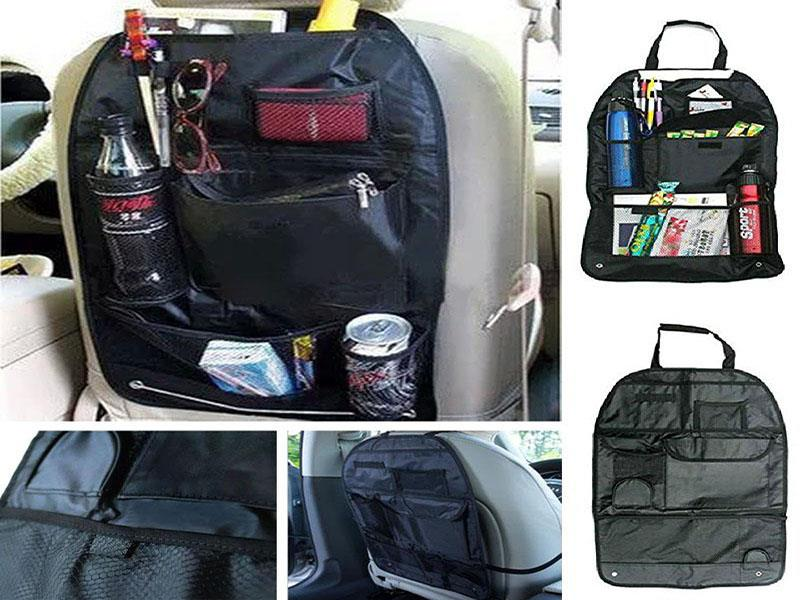 Car Back Seat Organizer Hanging Holder Storage Bag