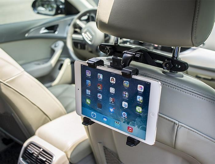 2018 Tfy Car Headrest Mount Holder For Ipad Pro With Fast Attach Release Design Convenient In Vehicle Tablet Access Black From Wanpool 12 56 Dhgate