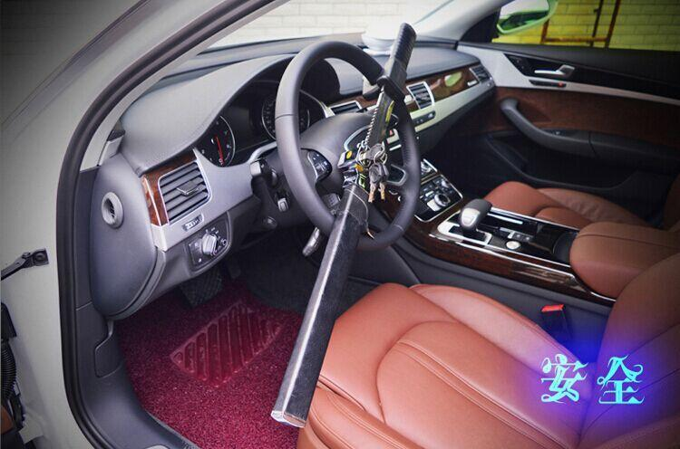 Car Steering Security  Lock With Sword Blade for decorative