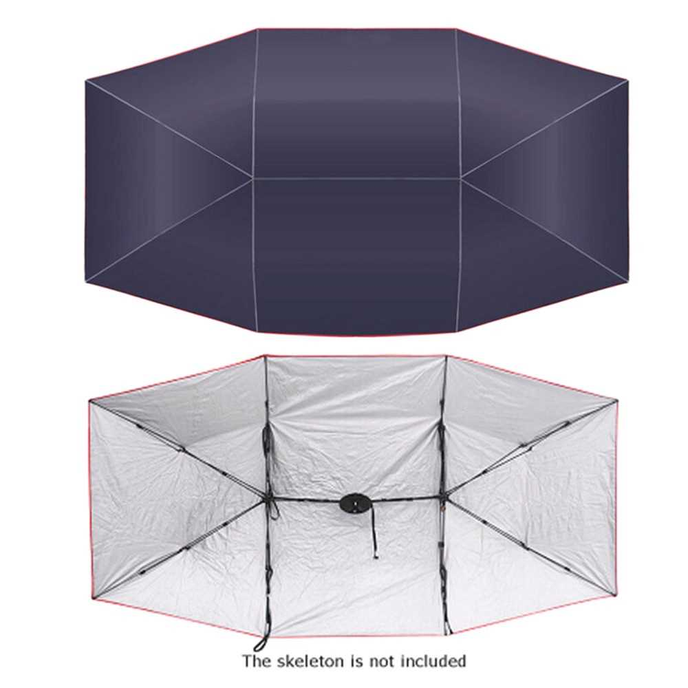 Car Umbrella Sunshade Cover Tent Oxford Cloth 4 * 2.1M Universal